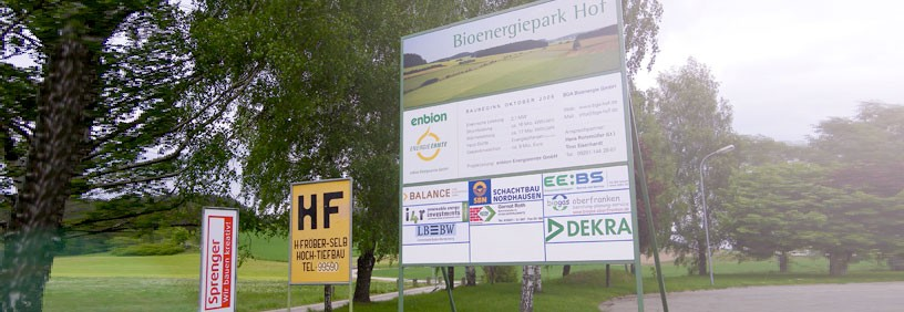 Bioenergiepark Hof/Saale: Genehmigung erteilt