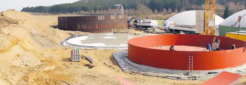 Baubeginn für die zweite Biogasanlage im Bioenergiepark Hof/Saale