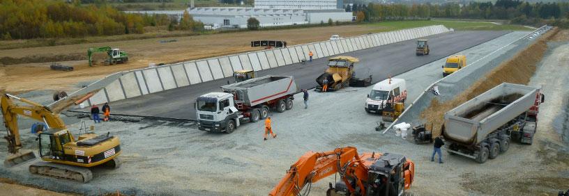 Baubeginn Trocknungsanlage im Bioenergiepark